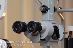 Testing Eye Health