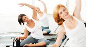 women pilates