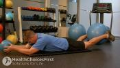 isometric low weight assist exercise