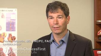 Dr. Frank Halperin, MD, FRCPC, FACC, Cardiologist,  discusses what is atrial fibrillation.