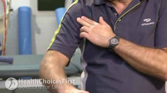 Carl Petersen BPE, BScPT, discusses bicep tendonitis in squash.