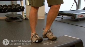 calf strength exercise