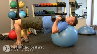 chest dumbbell exercise