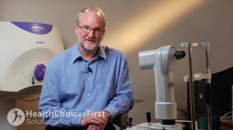 Dr. David Mitchell discusses what your Contact Lens options are.