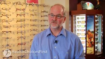 David Mitchell, OD, discusses lens options for adults and children.