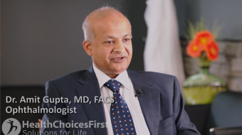 Dr. Amit Gupta, MD, FACS, Ophthalmologist, talks about how often and how long intravitreal injections are typically needed.