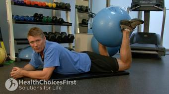 Jackson Sayers, B.Sc. (Kinesiology), discusses Isometric Hamstring Strength Exercises