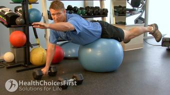 Jackson Sayers, B.Sc. (Kinesiology), discusses isometric lower back exercises to build strength.