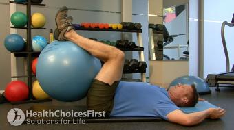 low stomach stability exercise