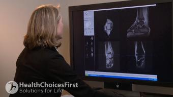 Audrey Spielmann, MD FRCP(C), discusses ankle MRI scans.