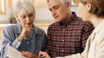 older couple consultation