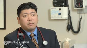 Dr. Daniel Ngui, BSc (P.T), MD, CFPC, FCFP, Family Physician, discusses osteoporosis diagnosis.