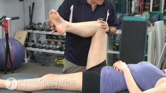 Carl Petersen, BPE, BScPT, talks about badminton and piriformis syndrome.