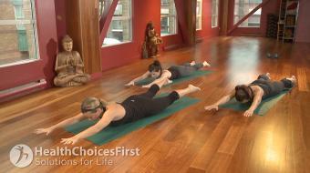 Rachel Wainwright discusses yoga for insomnia.