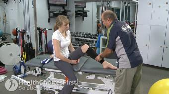 Carl Petersen, physiotherapist, discusses the RICE regime in tennis.