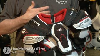 shoulderpads kid icesportsequip