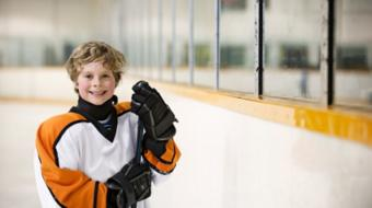 sports hockey kids