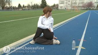 Ms. Tamarah Nerreter, physiotherapist, discusses Pregnancy and Stretching Exercises