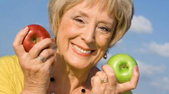 woman smiling nutrition