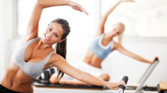 woman pilates