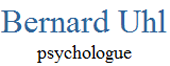 Bernard Uhl, Psychologue