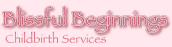 Blissful Beginnings Childbirth Services