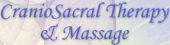 CranioSacral Therapy and Massage